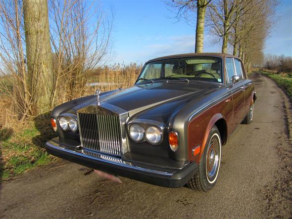 rolls-royce silverwraith 1975