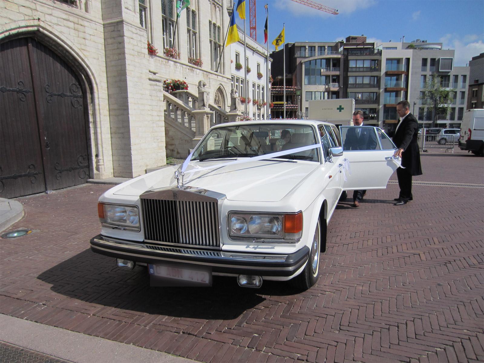Rolls-royce Spirit Limo White